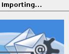 KMail importeert