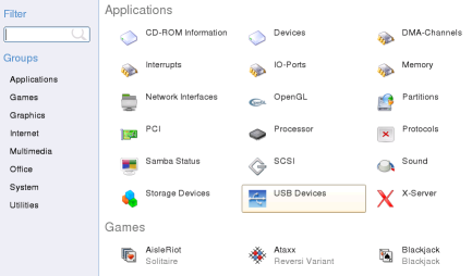 Suse 10.2 Gnome applications