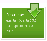 Vb: Quanta Download knop op SourceForge