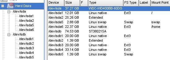 Linuxuser liglog harde schijf toevoegen - Externe verwijderbare partitie ...