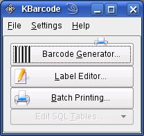 KBarcodeStart