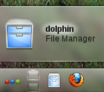 Dolphin default file manager